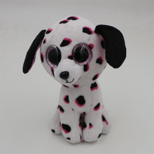 Buy A toy A dream Original Ty Beanie Boos Big Eyes Plush Toy Doll Dalmatians TY Baby Kids Gift Dog 10-15 cm for $5.00 in AliExpress store
