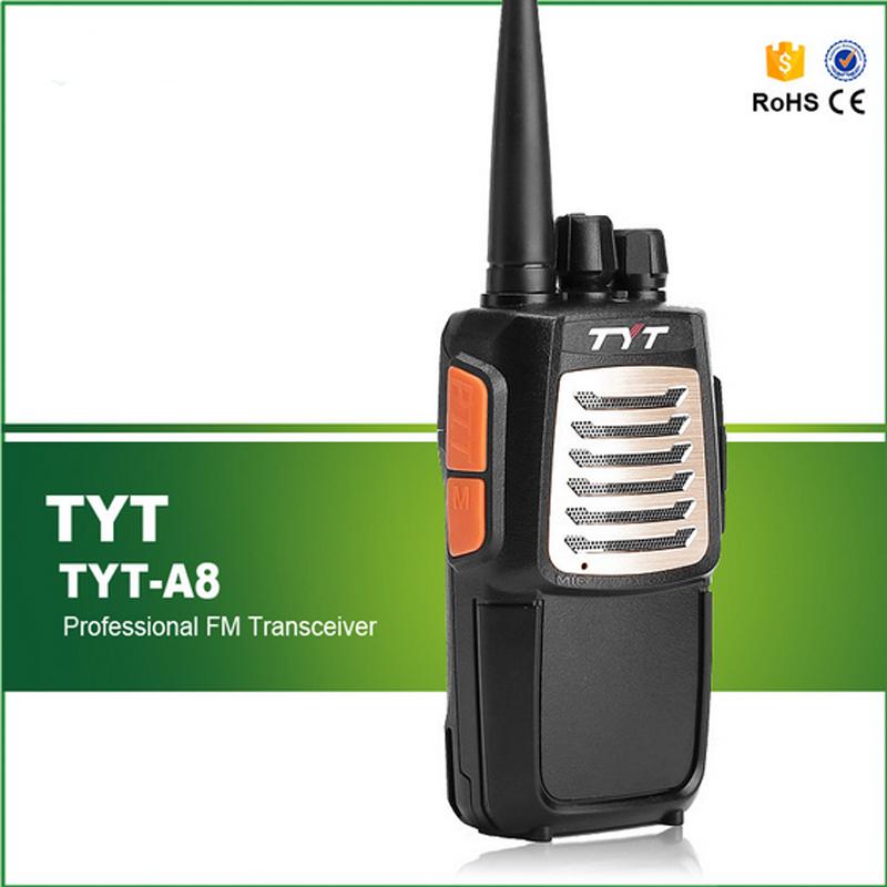 100% Original 7W UHF 400-520MHZ High Battery Capacity Cheap TYT Amateur Walkie Talkie TYT A8(China (Mainland))