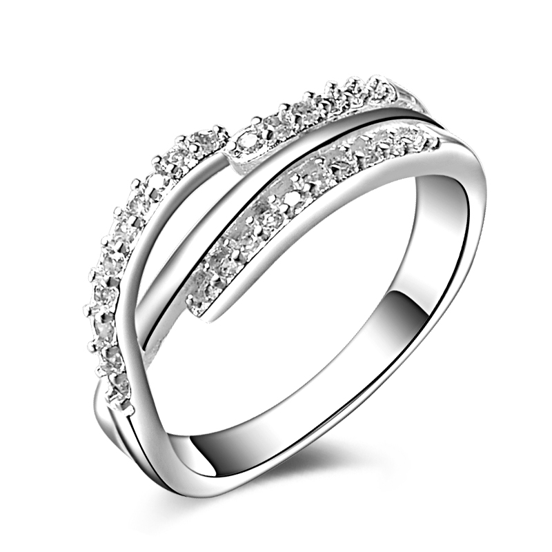 jexxi cost retail classic pure 925 sterling silver fashion women ring new arrival brand new unique - Wedding Ring Cost