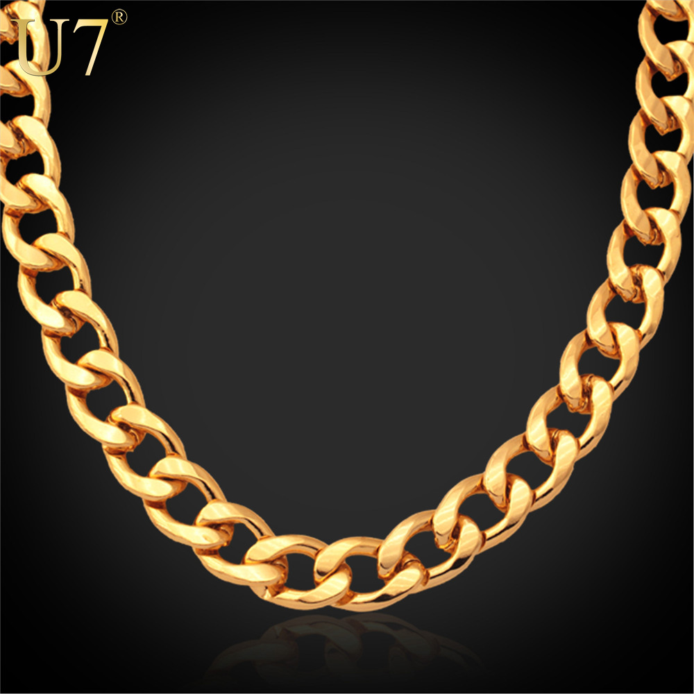big gold chain necklace promotion shop for promotional big