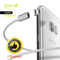 Magnetic Charging Fast Cable Original Wsken Mini 2 Connector Plug Metal USB For IPhone Samsung LG