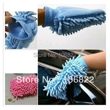 Softest Microfiber Chenille Washing Glove Mitten Lint Cleaning Car Household(China (Mainland))