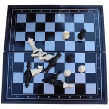 A15 Mini belle qualité Fold magnétique plastique jeu d'échecs pour voyager VB489 P(China (Mainland))