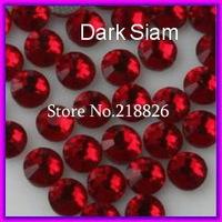 Cheap Iron on DMC Hotfix Crystals Rhinestone SS10 dark siam 10 Gross/bag CPAM Free Brides stones Garment accessories,Wholesale