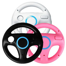 Best Price Newest !!Multi Color Steering Wheel For Nintendo for Wii Mario Kart Racing Games Remote Controller Console(China (Mainland))