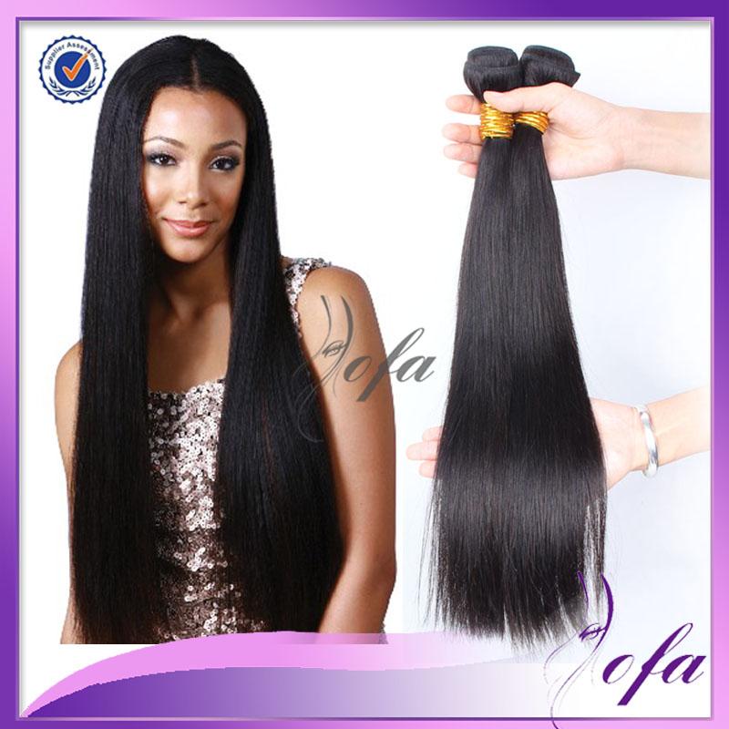 ... hair-straight-2-bundles-crochet-braid-hair-extensions-100-human-hair
