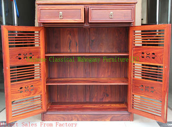 Chinese classical mahogany furniture rosewood furniture & red sandalwood & two gates & shoes  cabinet &  storage locker