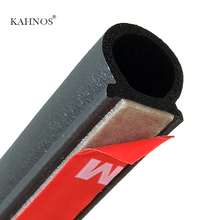 KAHNOS 2 meter Big D car door rubber waterproof weatherstrip resistant High temperature 3m door seal High quality car sealants(China (Mainland))