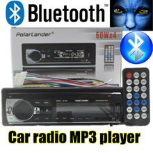 2015 New bluetooth car radio player car stereo 12V mp3 car audio Support Bluetooth/SD Card/USB Port/AUX IN/PHONE/1 Din in dash(China (Mainland))