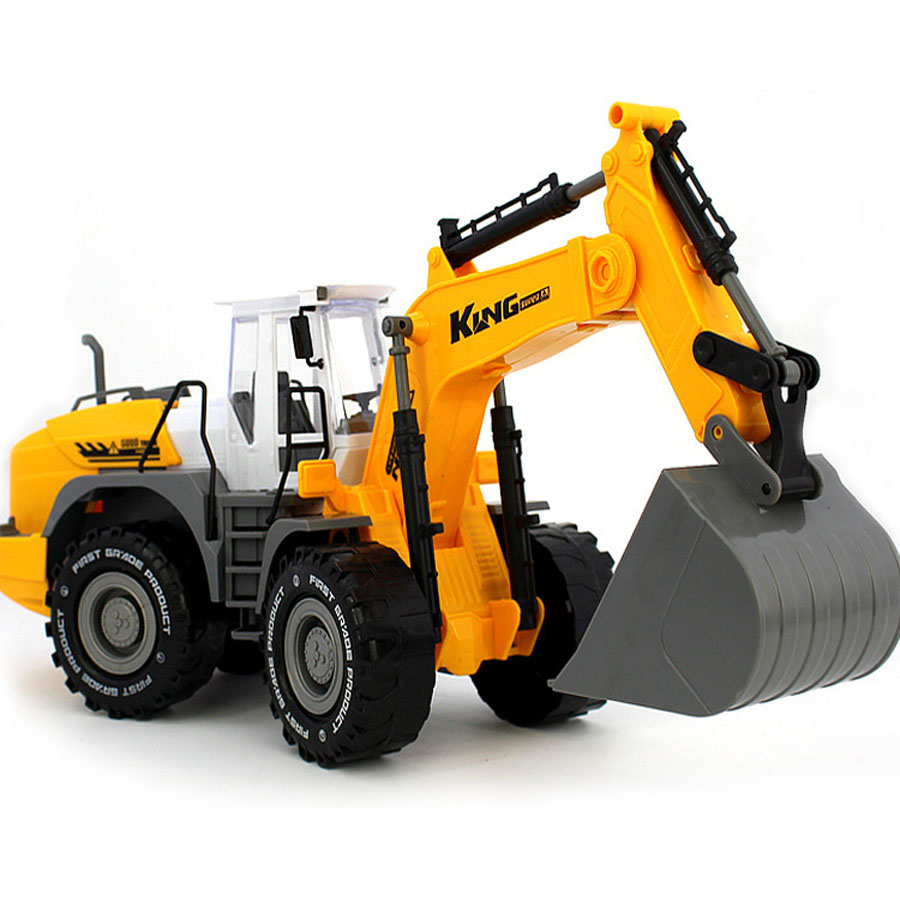1:22 Tuba Inertial Toy Truck Engineering Vehicle Model Beach Toy Car Farmer Road Roller Excavating Machinery Kids Toys Hobbies(China (Mainland))
