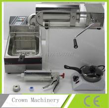 Buy 5L spanish churro machine+deep fryer+churros filling machine+melting pot for $372.00 in AliExpress store