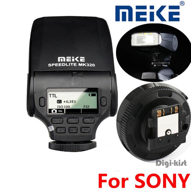 MEIKE MK-320 TTL flash Speedlite for Sony A7 A7R A7S A7 II A77 II A6000 NEX-6 A58 A99 RX1 RX1R RX10 RX100 II RX100 III<br><br>Aliexpress