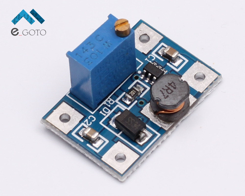 DC-DC 2-24V to 2-28V Step Up Adjustable Power Module Step Up Boost Converter 2A SX1308(China (Mainland))