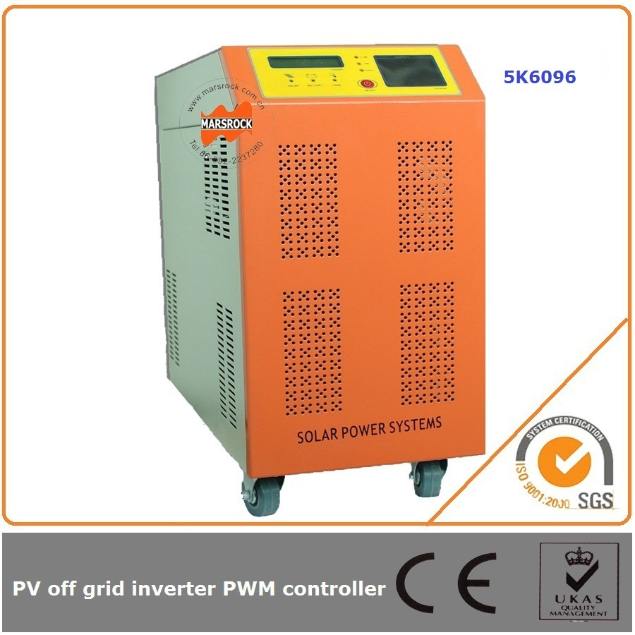 5000W 96V 60A off grid solar inverter and charge controller simple LED display shows working status clearly(China (Mainland))