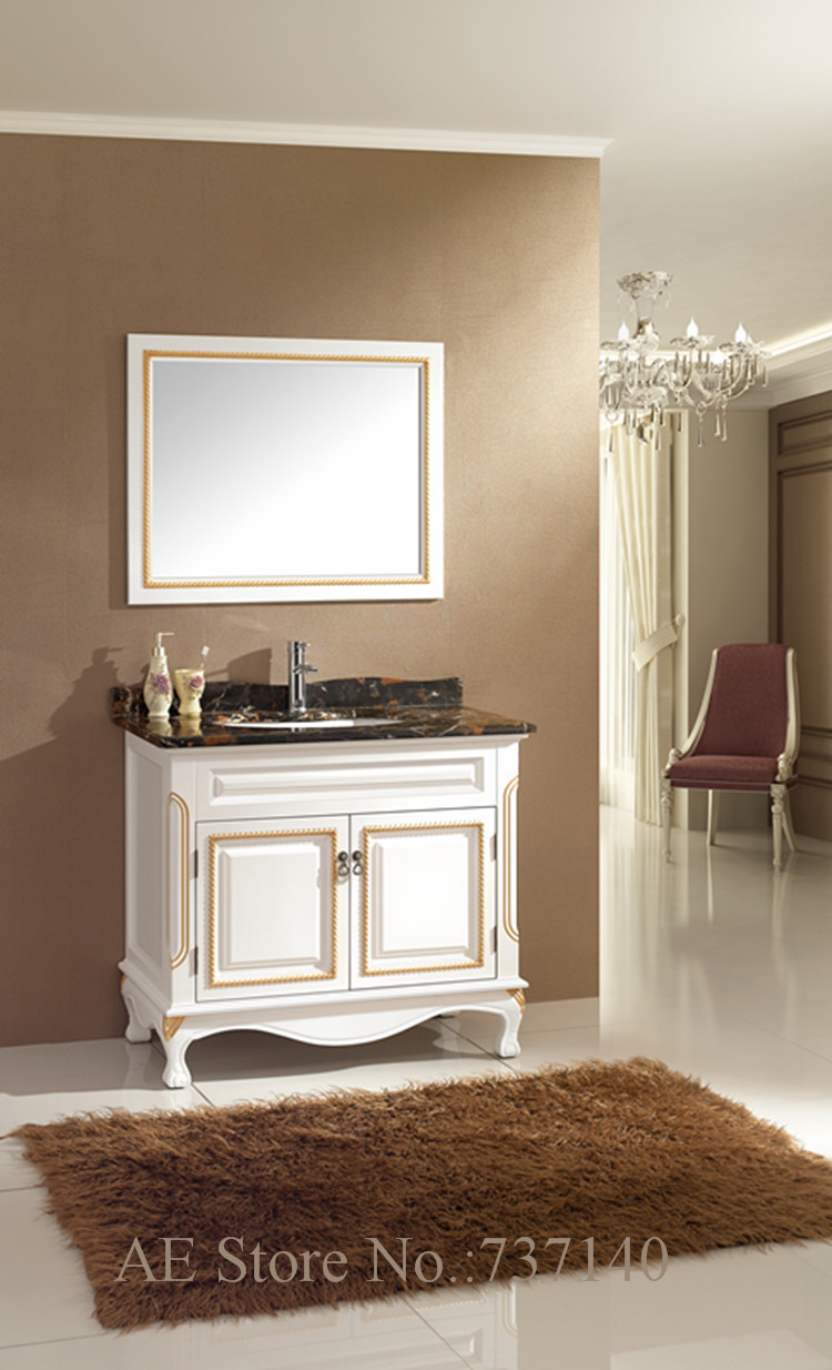 white furniture modern wood furniture affordable European style bathroom cabinet furniture buying agent wholesale price(China (Mainland))