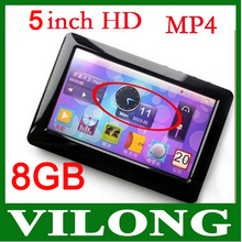 """5"""" Touch MP3 Playe MP4 Player 5 inch T13 FM Radio 8GB MP5 Player(China (Mainland))"""