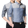 2016 Luopei Autumn And Winter Men's Shirt Addvelvet Comfortable And Warm Casual Turn Down Collar Plus Size