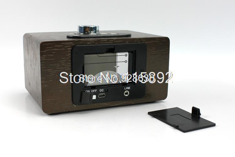 HY-A16 Wooden speaker,mini speaker,music box,gift box,mp3 speaker,Support Memory Card/U disk,  -  Victoria accessories store store