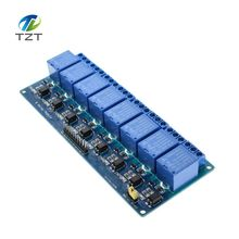 Buy 10PCS/LOT 5V 8-Channel Relay Module Board Arduino PIC AVR MCU DSP ARM Electronic Best price 8 Channel Relay Module for $41.58 in AliExpress store