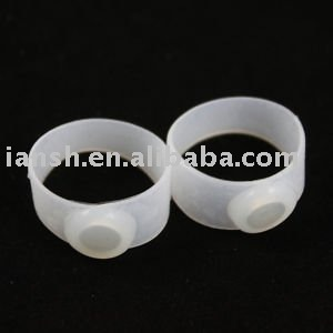 Silicon Diet Slimming Massage Foot Toe Ring, 200 pcs, Free shipping!