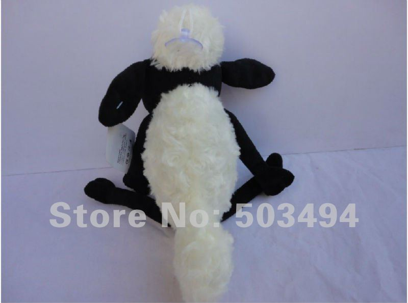 Retail 1 PCS Free Shipping High quality Shaun sheep Plush doll 35CM