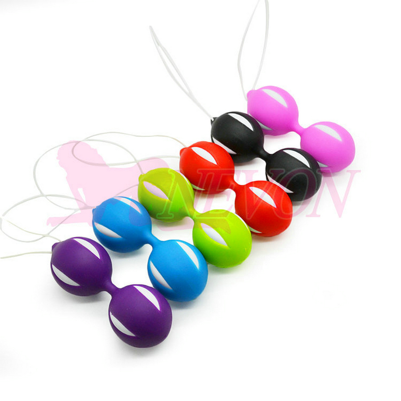 Colorful Jiggle Balls Smart Ben Wa Balls Love Ball Vagina Trainer, Adult Sex Toys for Women Sex Products