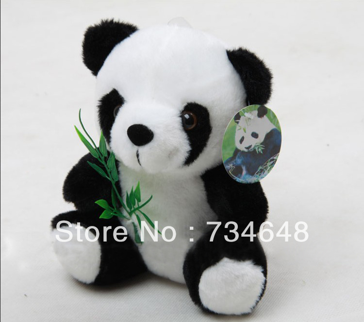 Cute Panda Shape Plush Toy(China (Mainland))