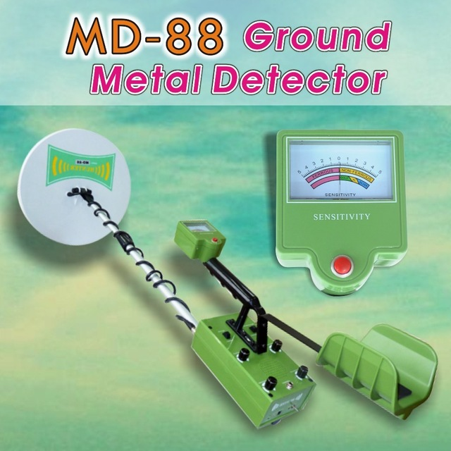 Metal Detector MD88 Deep Ground Searching Earth Gold Detector Gold Locator Finder Detect Machine Industrial Metal Detector Sale<br><br>Aliexpress