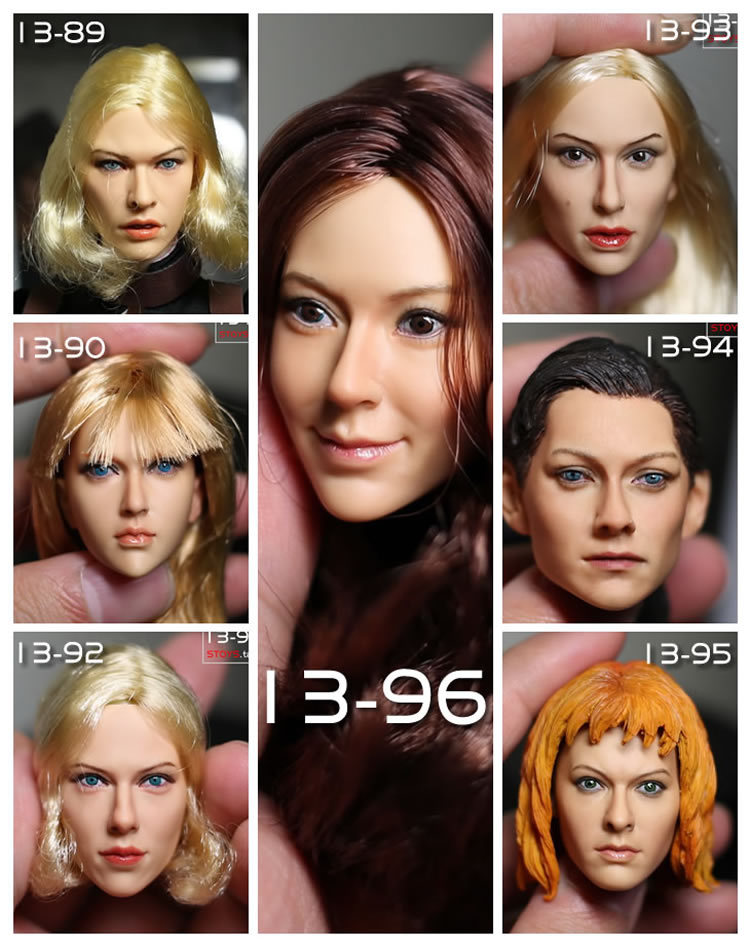 kumik 1/6 2014 New headsculpt ,Mira 13-92 and 13-89 Scarlett,DIY parts for 12inch dolls, doll and clothes are not include<br><br>Aliexpress