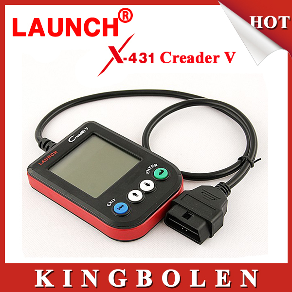 2015 Universal Auto Code Reader Launch Creader V Car Code Scanner CReader V OBDII CReader 5 Free Shipping(China (Mainland))