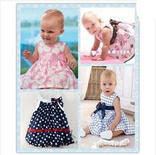 2015 New Cute Baby Dress Baby Girl Dress Spring Infant Dresses 1 Year Birthday Dress For Babies Vestido Para Bebe 0-24M(China (Mainland))