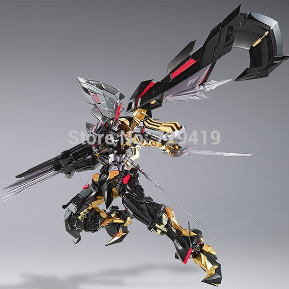 BANDAI Gundam Astray Gold Frame Mina Customizable model kids assembled Robot boy Anime assemble toy Action Figure collection(China (Mainland))