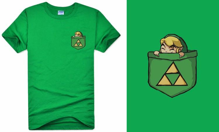 The Legend of Zelda T-shirt Anime Link Cosplay T Shirt Fashion Cotton Short Sleeve Tops Tees For Men  HTB1JwrIMXXXXXaaXVXXq6xXFXXXO