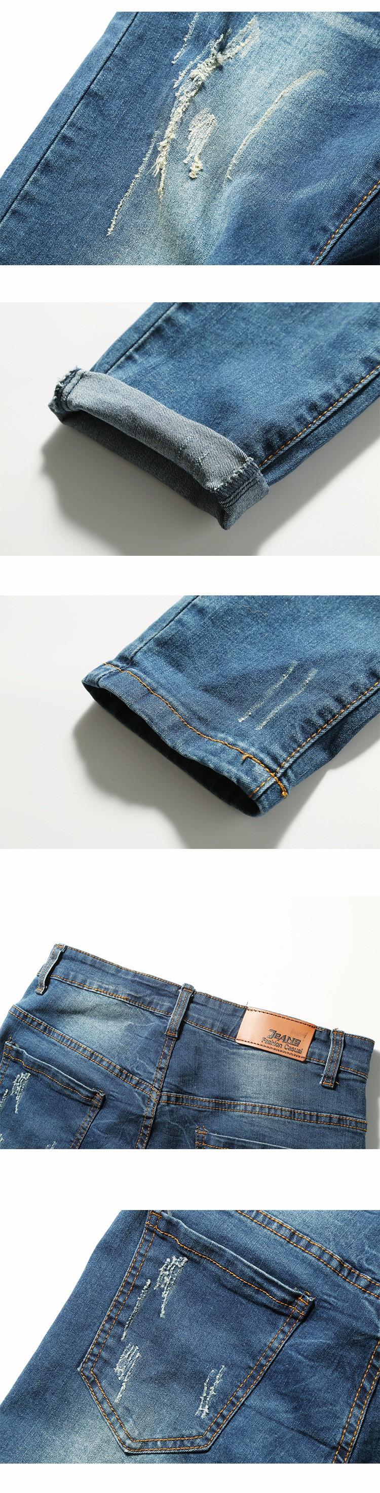 Скидки на 2016 Новое Прибытие Мода Синий Мужские Джинсы Прямые Плюс Размер новый Дизайн Тонкий Почесал Джинсы Для Мужчин Джинсовые Брюки Высокой качество