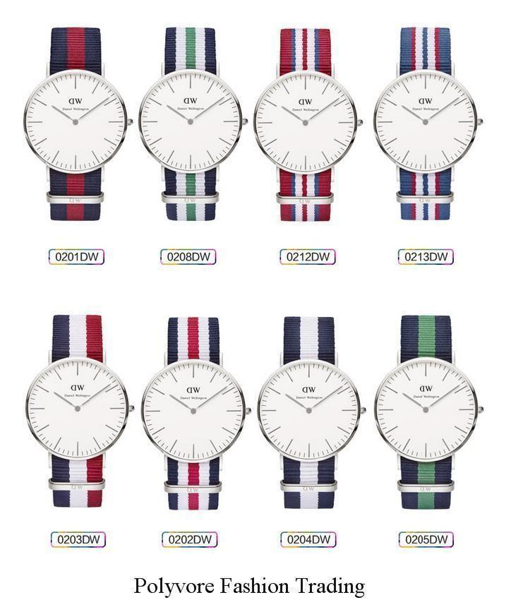 Top Brand Luxury Daniel Wellington Casual Watches Women Men Dress DW Watches Silver Sport Quartz Wristwatches