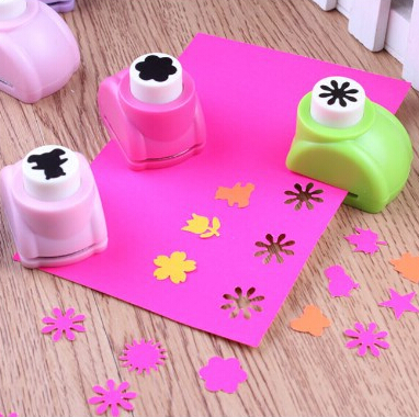 Retail Kid Child Mini Printing Paper Hand Shaper Scrapbook Tags Cards Craft DIY Punch Cutter(China (Mainland))