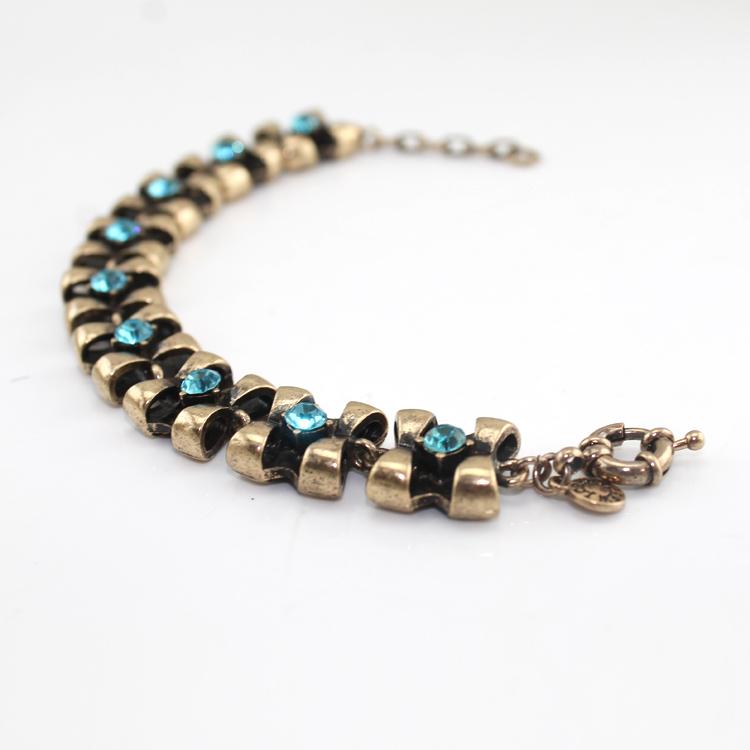2015 summer Free shipping /wholesale price/crystal stretch bracelet QDBA00110(China (Mainland))