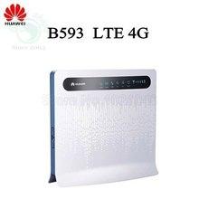 Huawei B593 LTE mifi WiFi 4 G Router com Slot para cartão SIM TDD FDD 800 1800 2300 2600 MHz