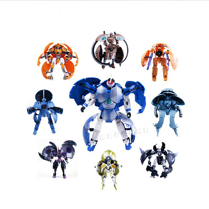 Deformation Robot 6 inch Educational Plastic Children's toys Holiday gifts Kids child Cool Toy Model - Jack's Store 536762 store