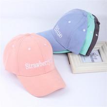 Fashion Candy Color Baseball Cap Women Snapback Caps Gorras Planas Hip Hop Hats For Men Summer Hat Adjustable