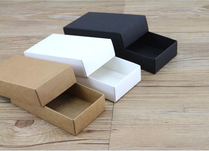 85*85*35mm Black paper box packaging boxes christmas,Kraft paper perfume packaging box,cardboard paper box(China (Mainland))