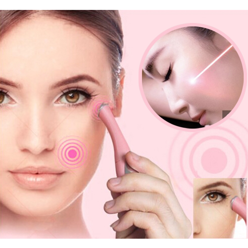 Skin Beauty Care Anti-aging RF Skin Spa Remove Wrinkles Facial Massager Device LED Light Machine Electric Eye Facial Tool(China (Mainland))