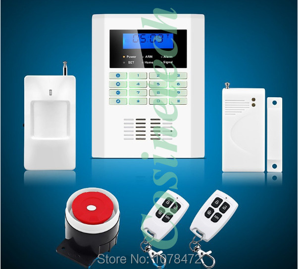 Drop shipping Safety Guard security 101 defense zones dual-network 850/900/1800/1900Mhz GSM PSTN alarm system<br><br>Aliexpress