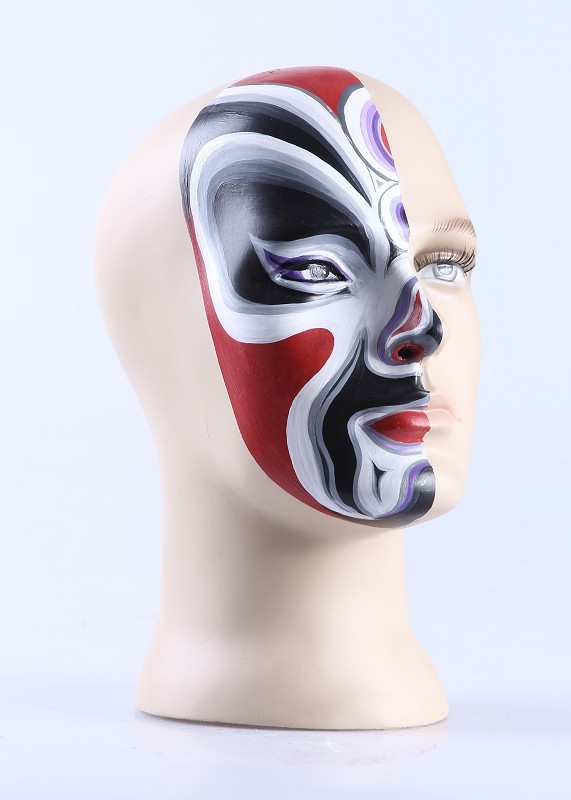 Wholesale White Plastic Female Mannequin Head For Immitation Hair Hat Display Stand Holder(China (Mainland))