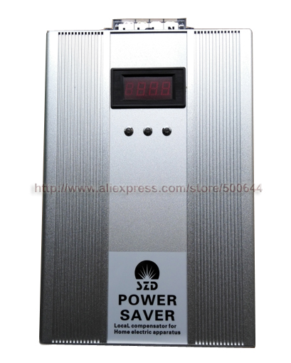 500KW 3 Phase Energy Saver with LED Screen 500KW Triphase Power Saver Electricity Compensator Energy Saving Tool for Industry(China (Mainland))