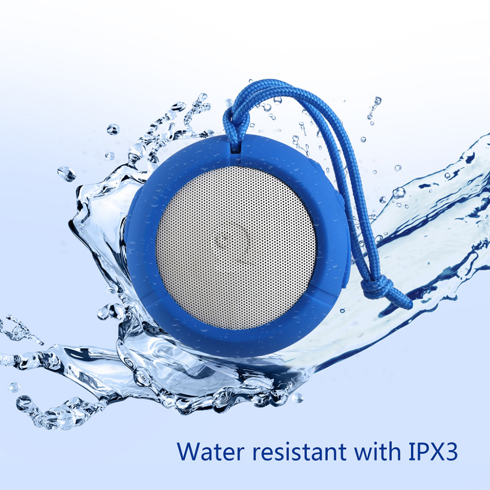 AUSDOM AS2 Portable Bluetooth 3.0 Stereo AUX Waterproof IPX3 Outdoor Speaker for Mobile phone,Tablet,Bluetooth Enabled Devices(China (Mainland))