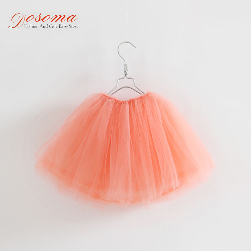 2017 Baby girl pettiskirt net veil skirt toddler girls clothes kids girl skirt cute princess party tutu skirts for girls 2-8T(China (Mainland))