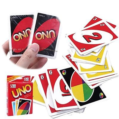 Standard Fun 108 UNO Playing Cards Game For Travel Family Friend Instruction(China (Mainland))