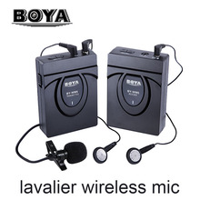 BOYA BY-WM5 / BY-WM6 Camera Wireless Lavalier Microphone Recorder System for Canon 6D 600D 5D2 5D3 Nikon D800 Sony DV Camcorder