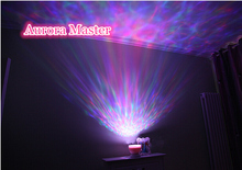 New Aurora Master 7 Colorful LED Light Lamp Ocean Wave Night Star Projector with Speaker for Kids(China (Mainland))